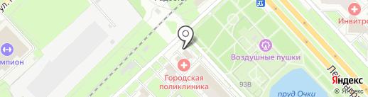 Караван на карте Ярославля