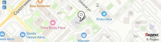 СВЕТЛЫЙ на карте Рязани