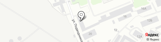 Элегант-авто на карте Северодвинска