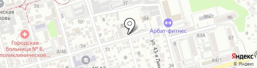 LE premier на карте Ростова-на-Дону