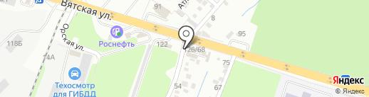 ЭДМ Авто на карте Ростова-на-Дону