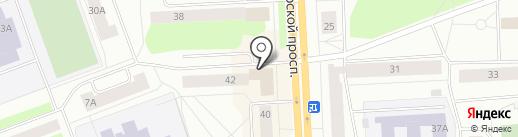Магазин пряжи и товаров для рукоделия на карте Северодвинска