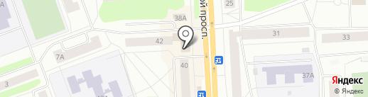 Банкомат, Банк ВТБ 24, ПАО на карте Северодвинска