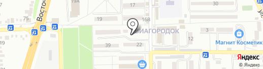 Алёнка на карте Батайска