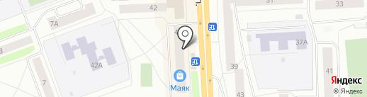 Магазин хозяйственных товаров на карте Северодвинска