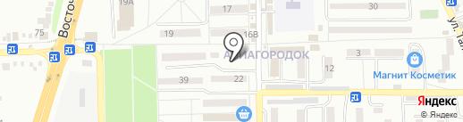 Табачная лавка на карте Батайска
