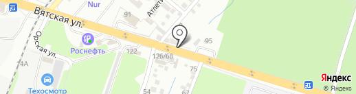 Точка Кровли на карте Ростова-на-Дону