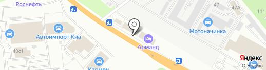 Мир грузовиков на карте Рязани