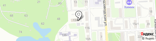 Автостоянка на карте Рязани