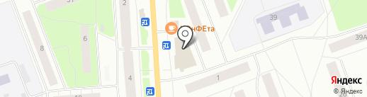 Магазин косметики и парфюмерии на карте Северодвинска