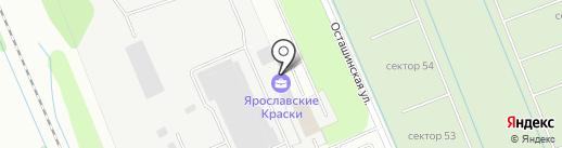 Сервисная компания по обслуживанию складской техники и промышленного оборудования на карте Ярославля