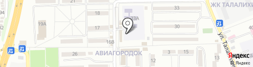 Детский сад №15, Радуга на карте Батайска