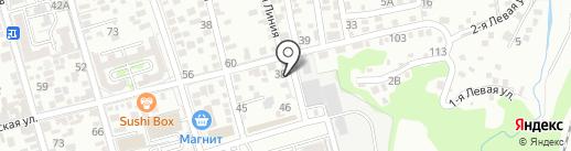Центр оценки и экспертизы на карте Ростова-на-Дону