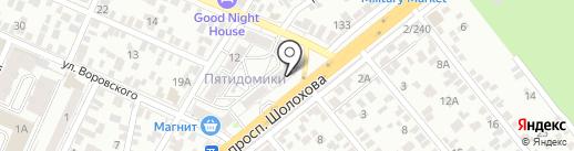 РАФАЭЛЬ на карте Ростова-на-Дону