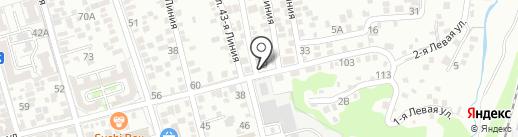 Провиантъ на карте Ростова-на-Дону