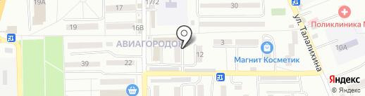 Юлия на карте Батайска