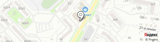 Магазин цветов на карте Ярославля