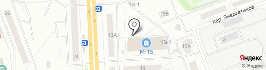 Страховая компания на карте Северодвинска