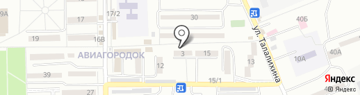 Ростов-Дом на карте Батайска