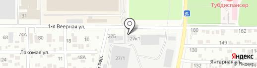 Государственный пункт технического осмотра на карте Ростова-на-Дону