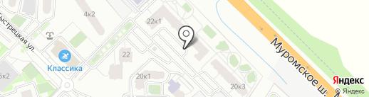СМАРТ дом на карте Рязани