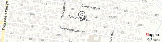 РСК на карте Ростова-на-Дону