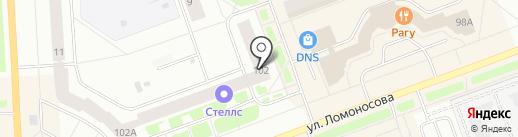 ШУЗ-МАСТЕР на карте Северодвинска
