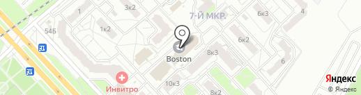 ЧБ Hookah zone на карте Ярославля