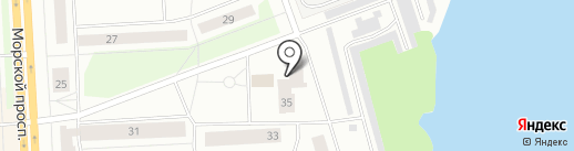 Участковый пункт полиции №1 на карте Северодвинска
