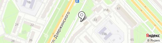 Яр.марка на карте Ярославля