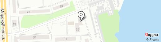 ЖКК №4 на карте Северодвинска