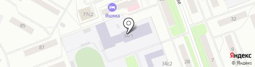 Производственные мастерские на карте Северодвинска
