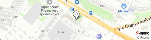 Макита62 на карте Рязани