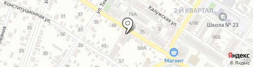 Виктория на карте Ростова-на-Дону