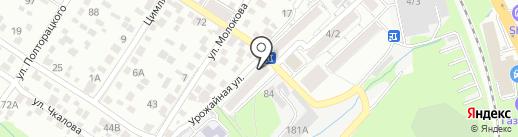 Мясной магазин на карте Ростова-на-Дону