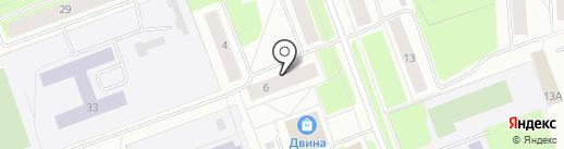 Русский на карте Северодвинска