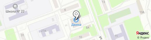 Аптечный пункт на карте Северодвинска