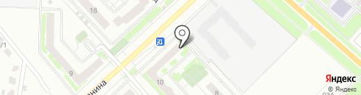 Аквамарин на карте Ярославля