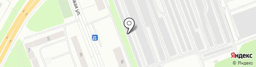 Шиномонтажная мастерская на Портовой на карте Северодвинска
