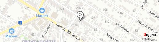 Интеграл на карте Ростова-на-Дону