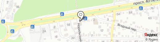 Пинскдрев на карте Ростова-на-Дону