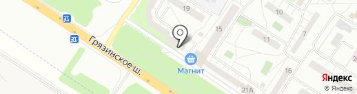 Мебель-Липецк на карте Липецка