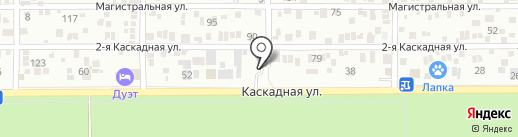 Автограф61 на карте Ростова-на-Дону