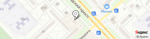 Проще некуда на карте Ярославля