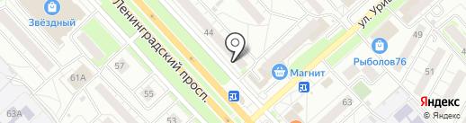 Автор Сайтов на карте Ярославля