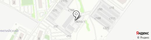 Sky Motors на карте Рязани