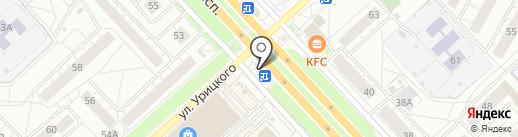 Срочноденьги на карте Ярославля