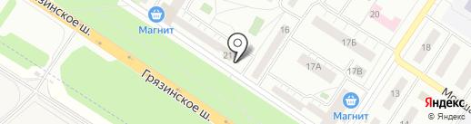 Детская школа искусств №11 на карте Липецка