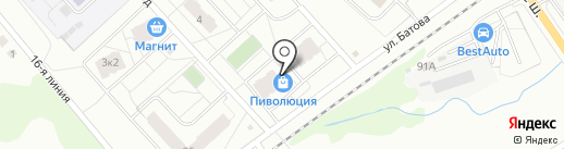 Мой сладкий на карте Ярославля