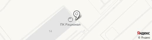 ПРОИЗВОДСТВЕННЫЙ КОМПЛЕКС РАЦИОНАЛ на карте Казинки
